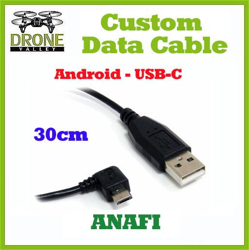 Parrot ANAFI - For Android Devices - Custom Data Cable (30cm) - USB-C