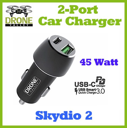 Skydio 2 2 Port Car Charger