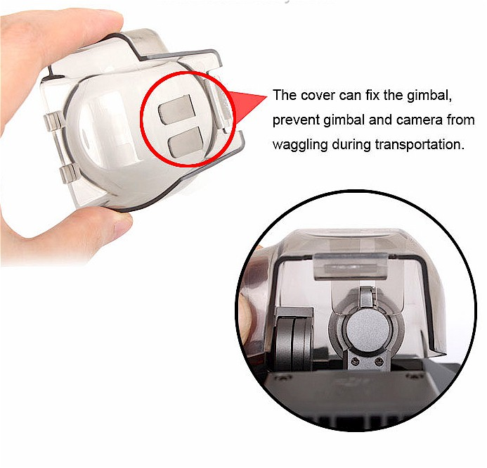 Image result for mavic pro gimbal lock cover